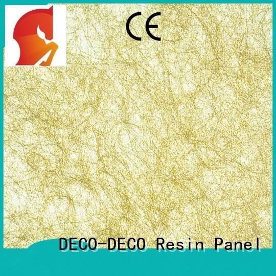 DECO-DECO Brand silk orna umbra Fiber resin panels blaze
