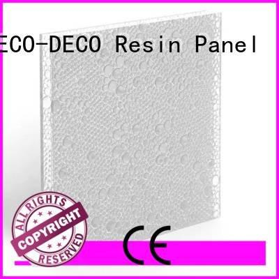 DECO-DECO sable moss pomegranate polyester acoustic panels marsh