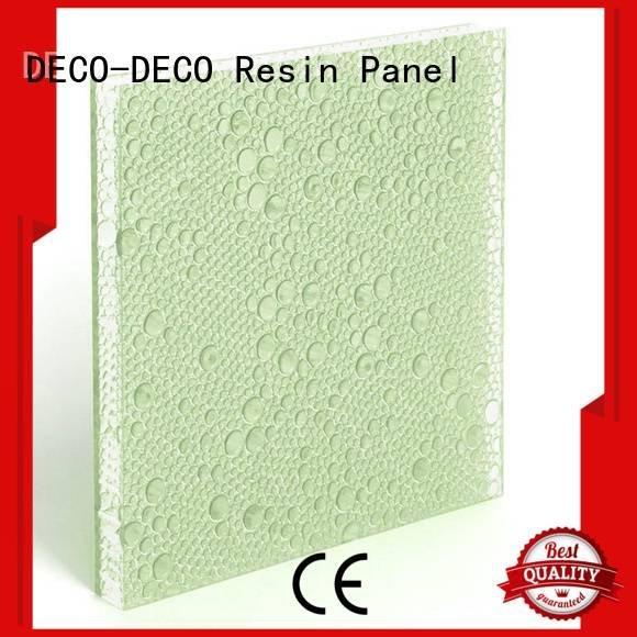 indigo resin khaki DECO-DECO polyester resin panels